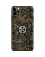 Pittsburgh Steelers Realtree Xtra Green Camo iPhone 11 Pro Max Skin