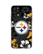 Pittsburgh Steelers Tropical Print iPhone 11 Pro Max Skin