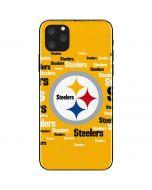 Pittsburgh Steelers Yellow Blast iPhone 11 Pro Max Skin