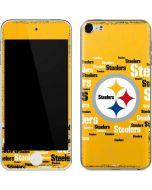 Pittsburgh Steelers Yellow Blast Apple iPod Skin