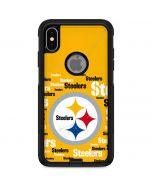 Pittsburgh Steelers Yellow Blast Otterbox Commuter iPhone Skin