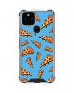 Pizza Google Pixel 5 Clear Case