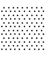 White and Black Polka Dots Incipio DualPro Shine iPhone 6 Skin