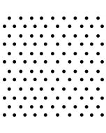 White and Black Polka Dots LifeProof Nuud iPhone Skin