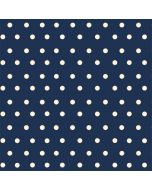 Blue and Cream Polka Dots Incipio DualPro Shine iPhone 6 Skin