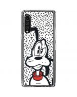 Pluto Confused LG Velvet Clear Case