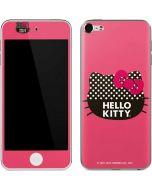 Polka Dot Hello Kitty Apple iPod Skin