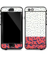 Polka Dot Split LifeProof Nuud iPhone Skin