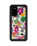 Pop Garden White Galaxy S20 Waterproof Case