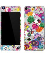 Pop Garden White Apple iPod Skin