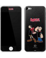 Popeye and Olive Oyl Apple iPod Skin