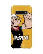 Popeye Flexing Galaxy S10 Plus Lite Case