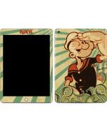 Popeye out at Sea Apple iPad Skin