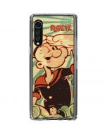 Popeye out at Sea LG Velvet Clear Case