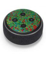 Poppy Field by Gustav Klimt Amazon Echo Dot Skin