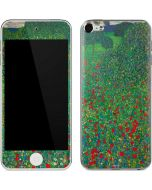 Poppy Field by Gustav Klimt Apple iPod Skin