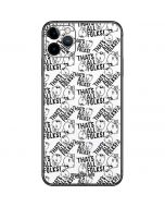 Porky Pig Black and White iPhone 11 Pro Max Skin