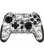 Porky Pig Black and White PlayStation Scuf Vantage 2 Controller Skin