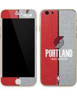 Portland Trail Blazers Canvas iPhone 6/6s Skin