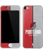 Portland Trail Blazers Canvas Apple iPod Skin