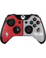 Portland Trail Blazers Canvas Xbox One Controller Skin