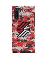Portland Trail Blazers Digi Camo Galaxy Note 10 Pro Case