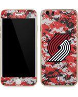 Portland Trail Blazers Digi Camo iPhone 6/6s Skin