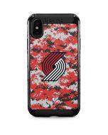 Portland Trail Blazers Digi Camo iPhone XS Max Cargo Case