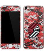 Portland Trail Blazers Digi Camo Apple iPod Skin