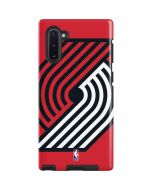 Portland Trail Blazers Large Logo Galaxy Note 10 Pro Case