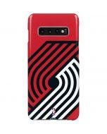 Portland Trail Blazers Large Logo Galaxy S10 Plus Lite Case