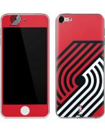 Portland Trail Blazers Large Logo Apple iPod Skin