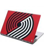 Portland Trail Blazers Large Logo Yoga 910 2-in-1 14in Touch-Screen Skin