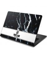 Portland Trail Blazers Marble Dell Chromebook Skin
