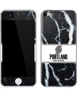 Portland Trail Blazers Marble Apple iPod Skin