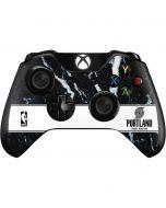 Portland Trail Blazers Marble Xbox One Controller Skin