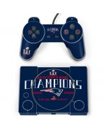 2016 Super Bowl LI Champions New England Patriots PlayStation Classic Bundle Skin