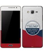 2016 Trump Make America Great Again Galaxy Grand Prime Skin