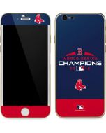 Boston Red Sox World Series Champions 2018 iPhone 6/6s Skin