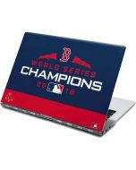 Boston Red Sox World Series Champions 2018 Yoga 910 2-in-1 14in Touch-Screen Skin