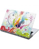 Abstraction White Yoga 910 2-in-1 14in Touch-Screen Skin