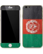 Afghanistan Flag Distressed iPhone 6/6s Skin