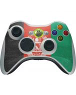 Afghanistan Flag Distressed Xbox 360 Wireless Controller Skin