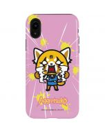Aggretsuko Breaking Point iPhone XR Pro Case