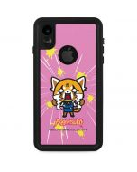 Aggretsuko Breaking Point iPhone XR Waterproof Case
