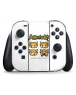 Aggretsuko Expressions Nintendo Switch Joy Con Controller Skin