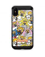 Aggretsuko Blast iPhone X Cargo Case