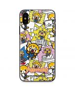 Aggretsuko Blast iPhone X Skin