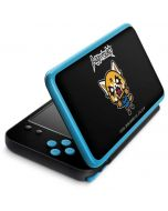Aggretsuko Fed Up 2DS XL (2017) Skin