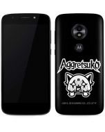 Aggretsuko Moto E5 Play Skin
